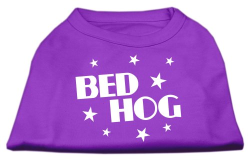 Mirage Pet Products Bed Hog Screen Printed Shirt Purple XXXL (20) (Louis Beds Dog)