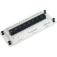 ICC-DELUXE SERIES- CAT5e DATA- 8-PORT