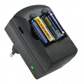 Batería con cargador para cámara Canon CR123 A: Amazon.es ...