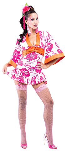 Adult-Costume Geisha Womens Lg French Kiss Halloween Costume -