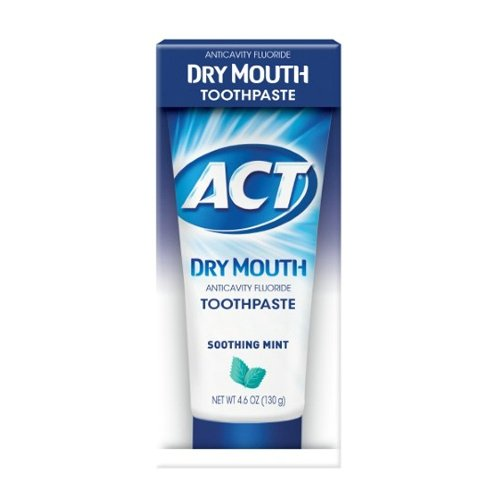 ACT Anticavity Fluoride Toothpaste Soothing