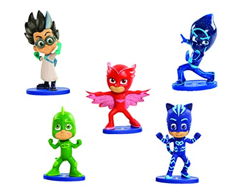 Just Play PJ Masks Collectible Figure Set (5 Pack) Styles may vary -