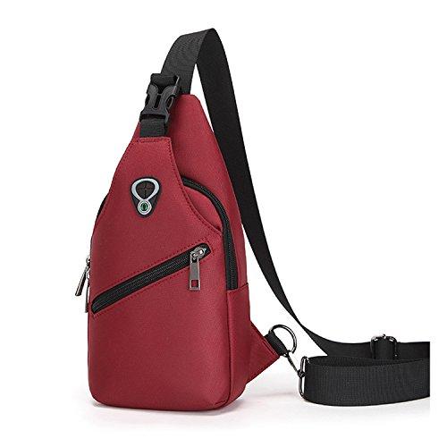 pecho honda del bolso los honda bag3 pechera hombro Mochila de de de del Sport bolsa Hombro hombres paquete gimnasio del paquete mensajero de 1waU8xq