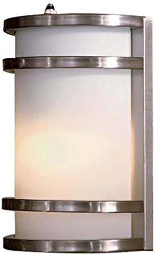 Minka Lavery 9801-144-PL 1 Light Outdoor Pocket Lantern, Brushed Stainless Steel
