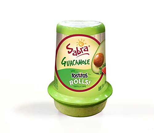 Sabra Snackers Guacamole with Tostitos Rolls 2.8 oz Pack of 12