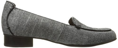 Loafer CLARKS Black Keesha Women's On Linen Slip Luca T7PaqwO