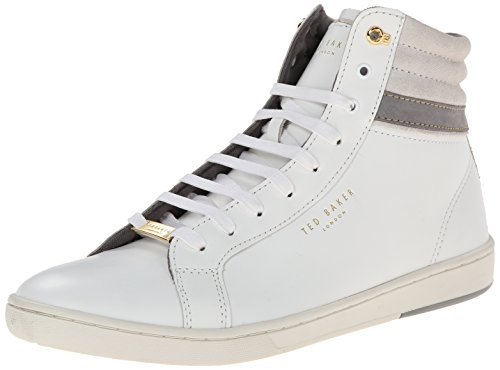 Ted Baker Mens Kilma Fashion Sneaker White Leather
