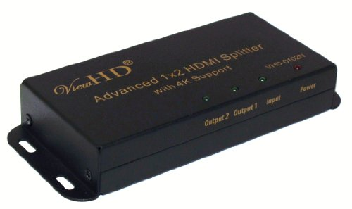 ViewHD Advanced 1x2 HDMI v1.4 Splitter Support 1080P, 4K@30H