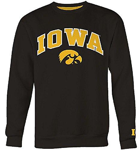 College Embroidered Crew Fleece Sweatshirt - 3