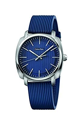 Calvin Klein Highline Blue Quatz Analog Men's Watch K5M311ZN
