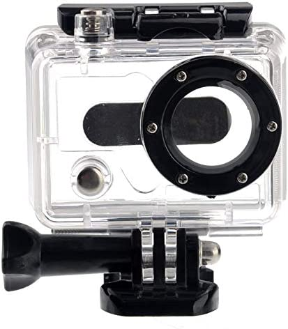 Without Cable for DJI Gopro Action Camera ST-33 Skeleton Protective Housing with UV-Protected Lens for Gopro HERO2 Open Side for FPV