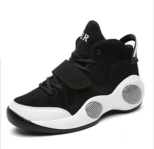 Chaussures 48 Grande Plein Taille Sport WSK Chaussures Nouvelles de en black de Chaussures pour air Hommes 39 Ball de Basket de 5wqHTax