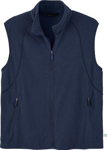 - Ash City Mens Recycled Fleece Full-Zip Vest_Night_M