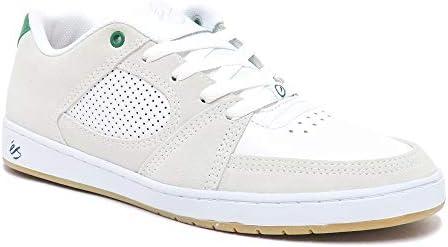 SHOES シューズ スニーカー ACCEL SLIM 白/緑 WHITE/GREEN スケートボード スケボー SKATEBOARD