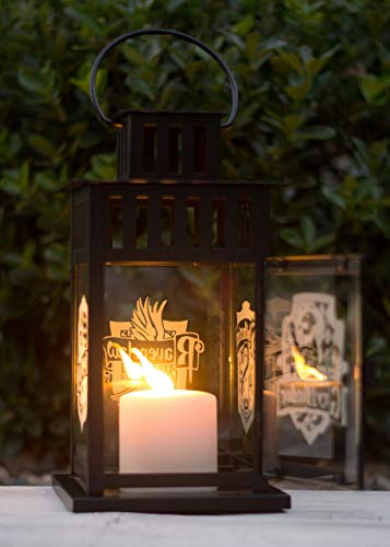 (Harry Potter Glass Etched, Four-Sided Lantern)