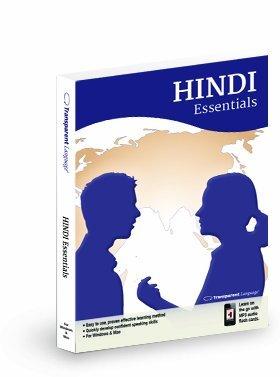 Essentials Hindi Language Learning Program Software and MP3 Audio Win & Mac