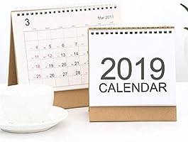 Futurelast 2018-2019 - Calendario de escritorio con tapa y calendario de mesa, para oficina: Amazon.es: Bricolaje y herramientas