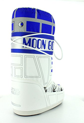 Tecnica Moon Boot Star Wars C-3po Bianco / Blu / Argento