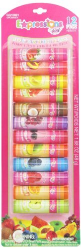 Expressions Girls Lip Balms, Fruit