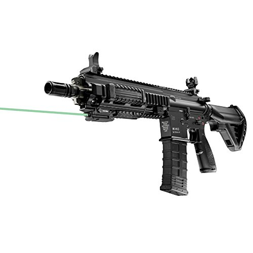 Rail Mounted Laser (Green) Requires at least 1 3/4'' of rail space by LaserMax