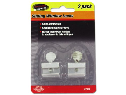 Sterling MT042 Sliding Window Locks Case of 144 by Sterling