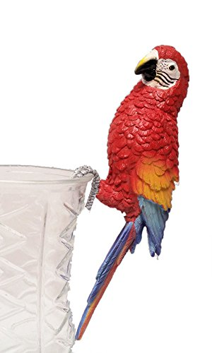 - Garden at Home Tropical Decor Macaw Parrot Figurine Pot Hanger, 9