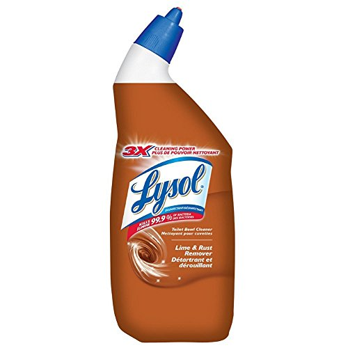 LYSOL TOILET BOWL CLEANER: Lime & Rust Remover 710mL