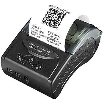 Amazon.com: GOOJPRT Thermal Printer PT-210 Portable Receipt ...