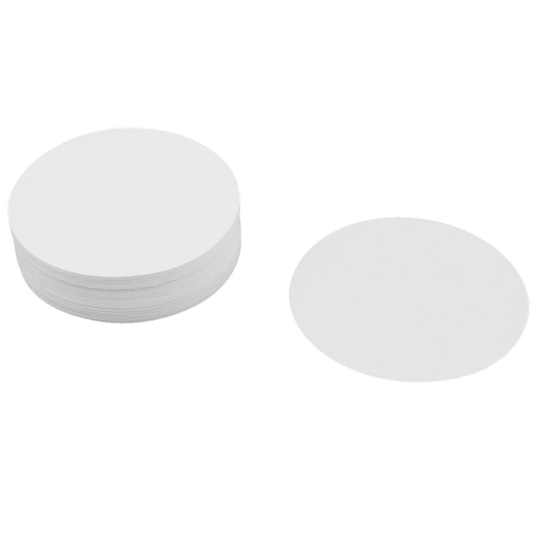 uxcell 100 Pcs Fast Flow 0.15/% Ash Content 7cm Dia Qualitative Filter Paper