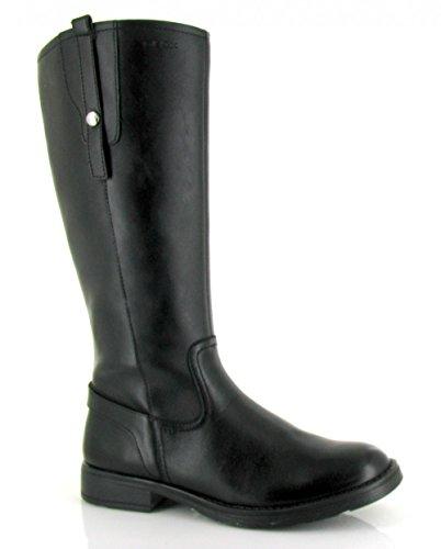 Geox, J44D3K 05443 C9999, Bota alta cremallera black de Mujer, talla 36