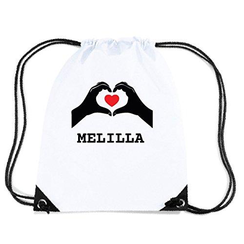 JOllify MELILLA Turnbeutel Tasche GYM3609 Design: Hände Herz