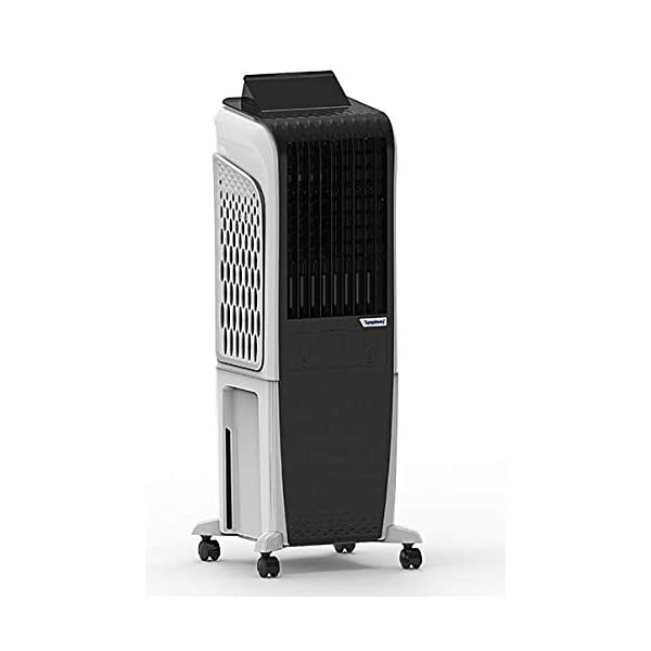 symphony Diet 3D 30i Tower Air Cooler - 30L, Black 2021 August Capacity: 30 Litres Included Components: 1 Air Cooler With User Manual Wattage: 145W