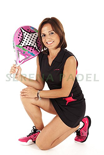 Star vie Polo Padel Pro Black: Amazon.es: Deportes y aire libre