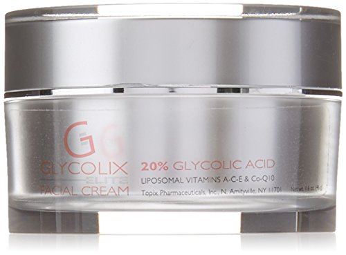 Topix Pharm Glycolix Elite Facial Cream, 20 Percent., 1.6 Fluid Ounce - Glycolix Elite Facial Cream