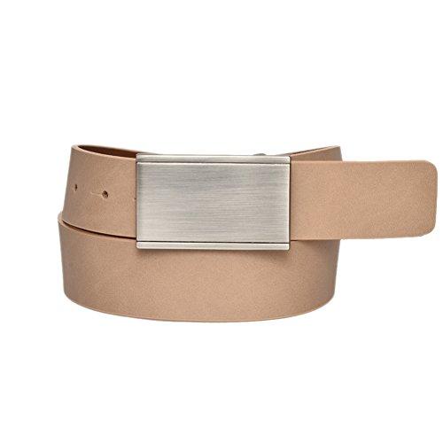 Sharp Leather Buckle Ratchet Majdell
