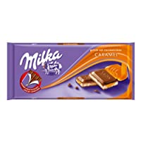 Milka Milk Chocolate with Caramel Filling 100 g