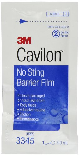 - 3M Cavilon No Sting Barrier Film 3345, 25 Applicators