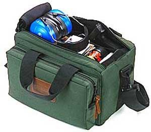 (Pro Shooter Bag - Padded - Hunter Green - Bagmaster)