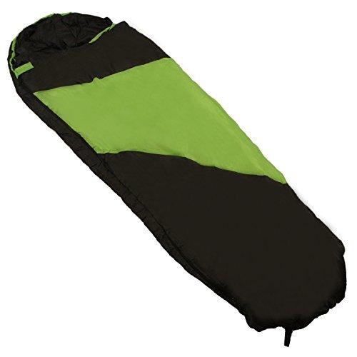 Kaufland 40º Superlite Mummy Sleeping Bag Green/Black ...