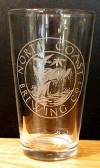 North Coast Brewing Company - Set of 4 Beer Pint (North Coast Beer)