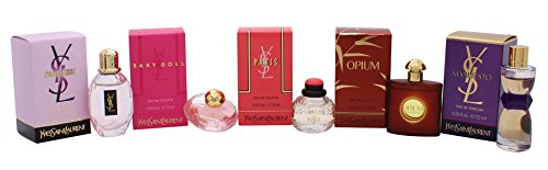 Yves Saint Laurent Variety Perfume Travel Set - 0.1 Ounce Miniature
