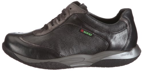 Sano by Mephisto KASHMIR SOFTY 1200/LO.6100/PE.10103 BLACK P5102051 - Zapatos de cuero para mujer, color negro, talla 38.5