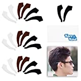 Kare & Kind Eyeglass Ear Grip Hooks - 10 pairs - Anti-Slip Soft Silicone Temple Tips - Eyewear Retainers - Tricolor - For Daily Use, Sports, Outdoor - Fits Sunglasses, Reading and Prescription Glasses