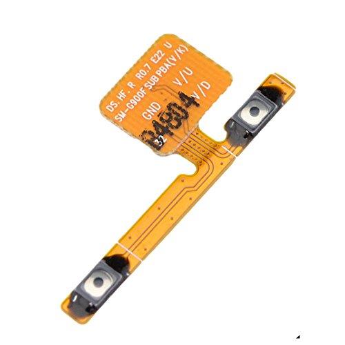 Volume Button Keypad Flex Cable Ribbon Replacement Kit for Samsung Galaxy S5 I9600 G900f G900f G900h G900k G900v G900m G900i G9008v