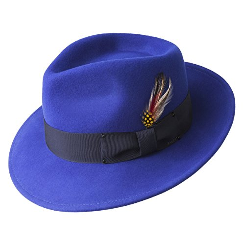 Bailey Of Hollywood Fedora Litefelt Hat Cobalt S Cobalt S