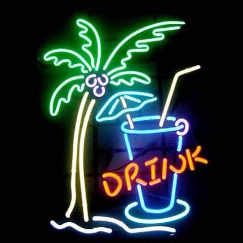 XPGOODUSA Drink Coffee Neon Sign- 17