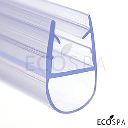Ecospa Bath Shower Screen Seal For 4 6 Mm Straight Glass Shower