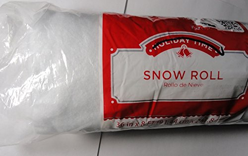 Xmas Snow - 3 Foot X 8 Foot Snow Roll - You Get 2 Packages