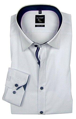 OLYMP Bezner KG -  Camicia classiche  - Basic - Con bottoni  - Uomo