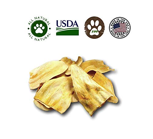 Top Dog Chews Cow Ears Jumbo Thick 100 Pack - Huge No Additives, Chemicals or Hormones - USDA/FDA Inspected by Top Dog Chews (Image #4)